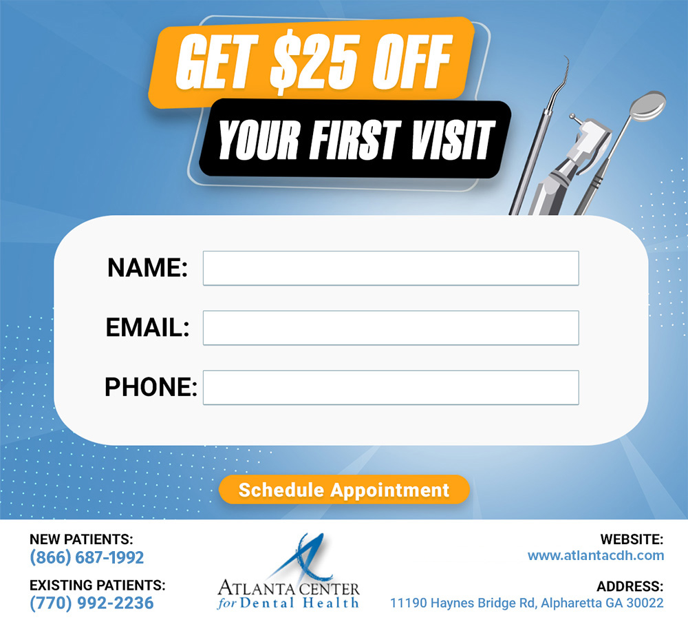 Get 25% off your first visit